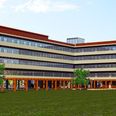 Concurso de Edificio Plurifamiliar de 63 viviendas de VPO en Sant Joan Despí.