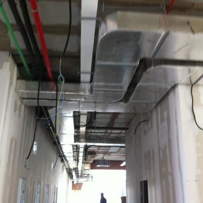 Instalación climatización centro de salud  Suerte de Saavedra
