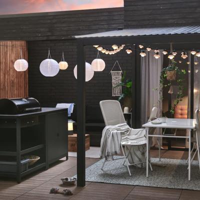 Cómo decorar tu espacio al aire libre