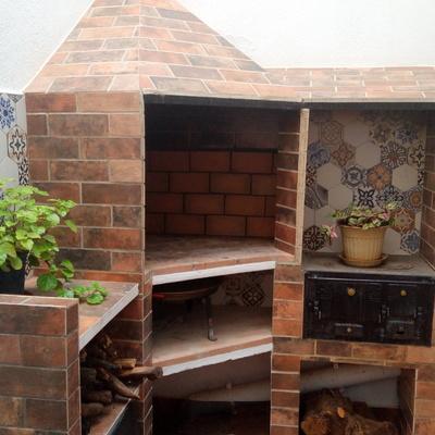 Construccion Barbacoa rustica