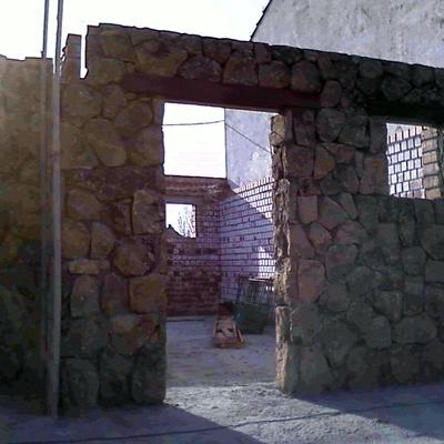 Construcción de casa unifamiliar.