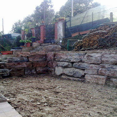 Precio construcci n muros habitissimo - Muros de rocalla ...