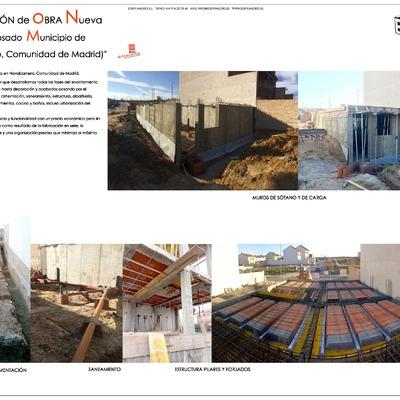 Construcción de Obra Nueva Chalet Adosado, Municipio de Navalcarnero Comunidad de Madrid