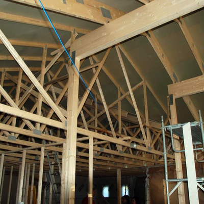 Construcción - vivienda prefabricada