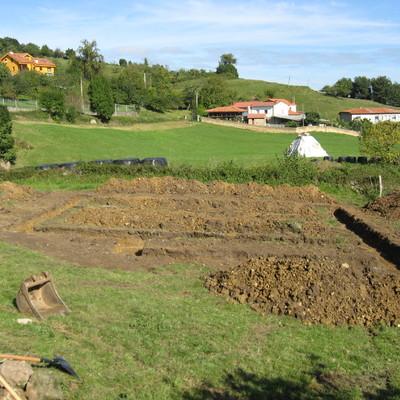 Construción casa en Gijon, Asturias.