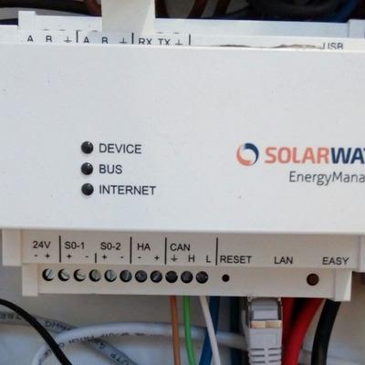 Autoconsumo solar de 3,71kW con baterias ion litio