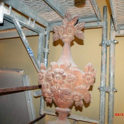 exterminio y control de Xilogfagos y restauracion