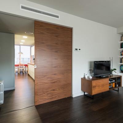 Puertas correderas que ahorran y unen espacios