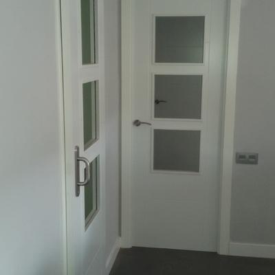 Rebajes de Premarcos de obra y colocación de puertas