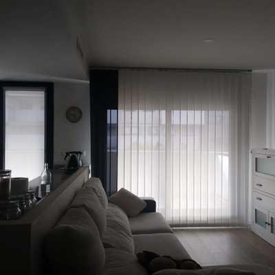 Suministro e instalación de Cortina Técnica en hogar