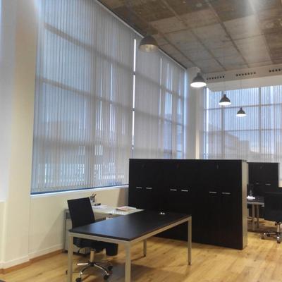 Cortinas Verticales en Oficina en Alcobendas