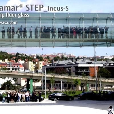 Puente de vidrio Centro Champalimaud con CriSamar STEP