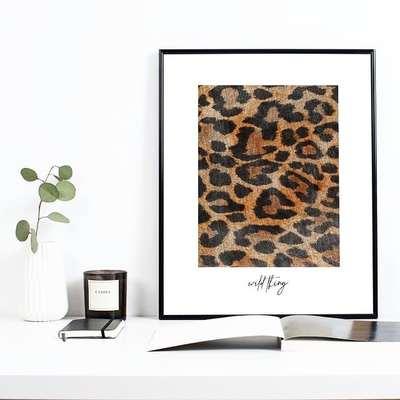 Descubre el animal print para decorar con tu lado salvaje