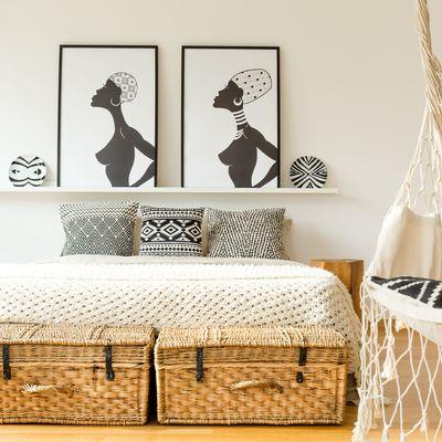 Cómo decorar tus paredes sin hacer agujeros