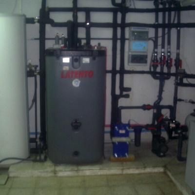 Energía Solar y Calefacción por suelo radiante para vivienda unifamiliar.