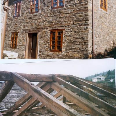 Rehabilitaciòn de viviendas para casa de Turismo Rural. Asturias