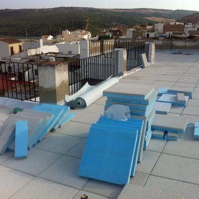 Aislamiento Termico e impermeabilización de Cubierta