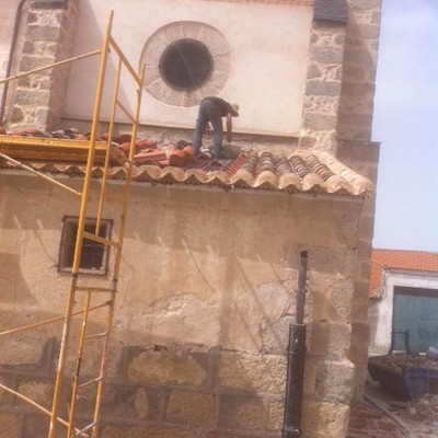 Rehabilitacion de fachada iglesia