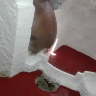 Rehabilitación de cueva y revestimiento de fachada