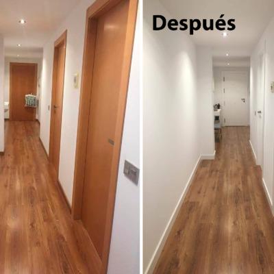 puertas de paso antes y después