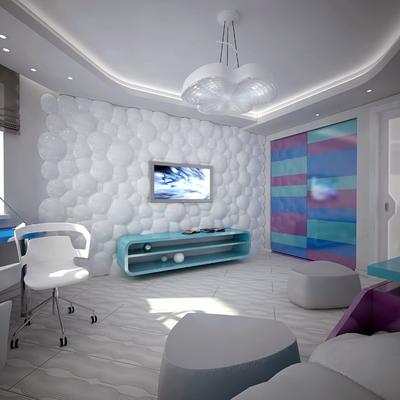 Decodesk - decoracion de paredes en un canal de la televisión Rusa