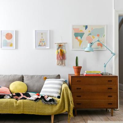 Decoración con colores pastel