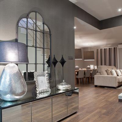 Utiliza los espejos para decorar tu casa