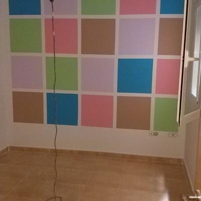 Decoración habitación infantil.