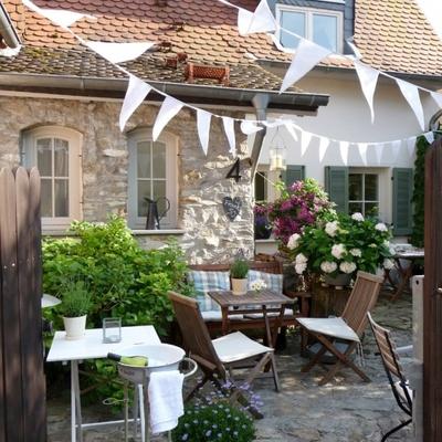 Ideas y fotos de suelo piedra exterior para inspirarte - Decoracion jardin exterior ...