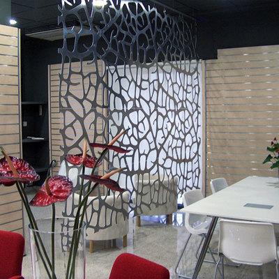 decoración oficina - celosías deocdesk