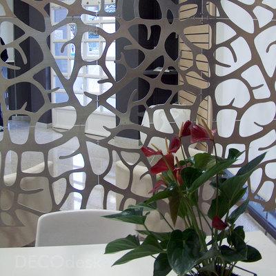 decoración oficina - celosias
