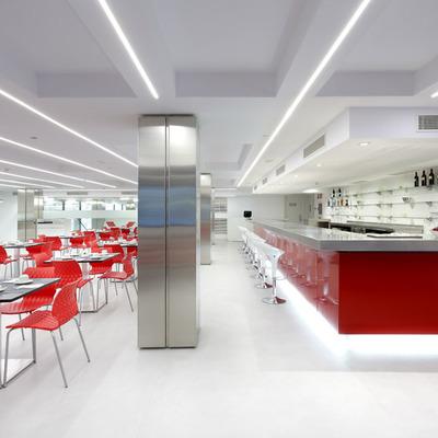 Decoración y equipación para hoteles en Madrid: Laboratorio de Arquitectura para Hotel Exe Central