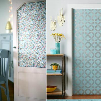 Ideas y fotos de papel flores para inspirarte habitissimo - Papel adhesivo para puertas ...