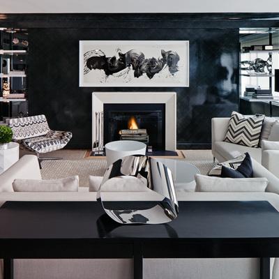 Aprende a decorar en negro y triunfa con un hogar elegante