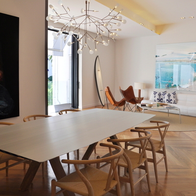 Una vivienda con mucho arte