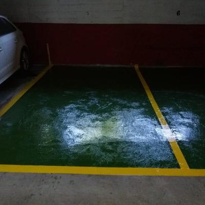 Reparación plazas de parking