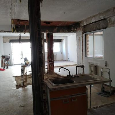 Demolicion y vaciado de vivienda