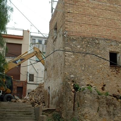 Demolición casa vieja