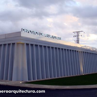 Depósitos e instalaciones agua potable. Ocaña (Toledo). Dirección de obra 2008-09.