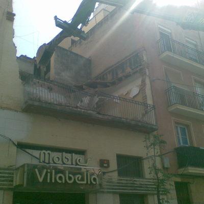 Derribo en Tarragona