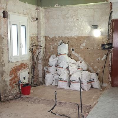 Reforma integral de vivienda de 50 m2