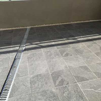 Impermeabilización de terraza + colocacion de gres.