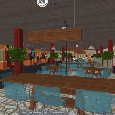 Proyecto de distribución para restaurante