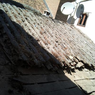 Desmontado de tejado empalomado