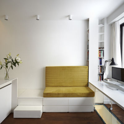 Despacho con muebles a medida