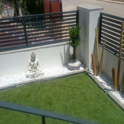 Decoración Jardín Exterior
