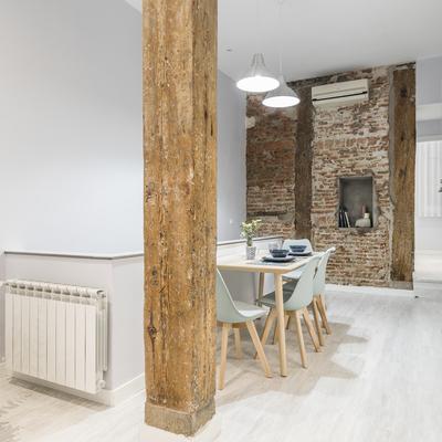 La transformación en vivienda de un antiguo local comercial