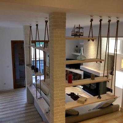 Reforma salón diseño de interiores