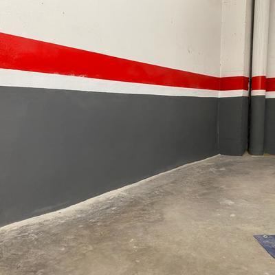 Impermeabilización plaza garaje