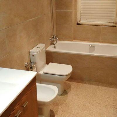 Reforma parcial de  un baño en Barcelona